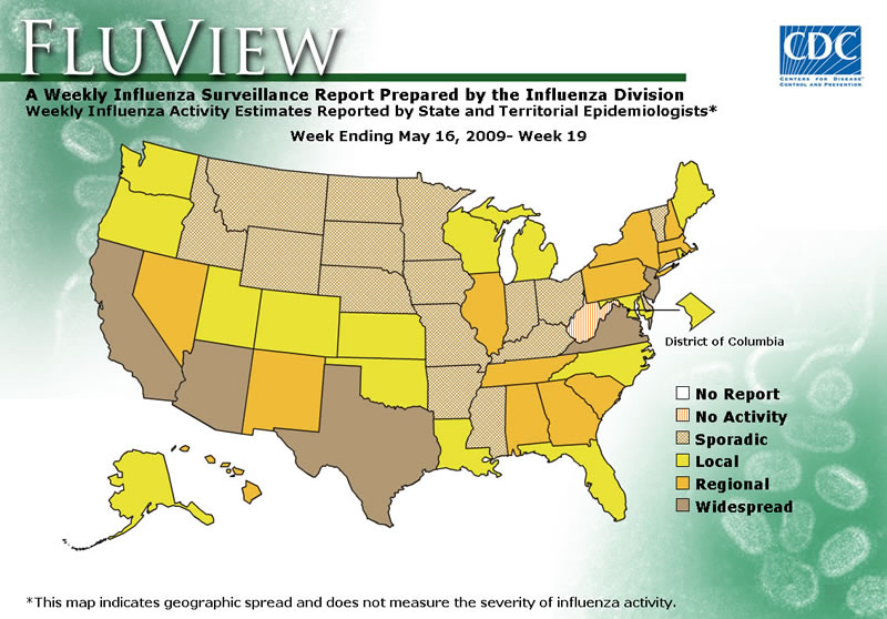 Swine Flu cases in all 50 US States ProCPR Blog