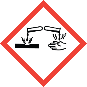 Hazard Communication Training - Corrosion Pictogram